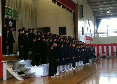 卒業式: 中之条小学校PTA